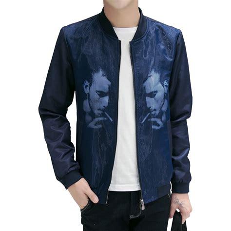 new fashion brand jacket slim fit mens designer