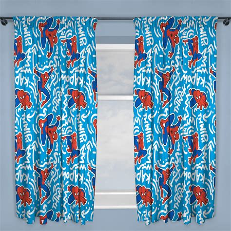 curtains characters disney character boys curtains bedroom marvel paw patrol