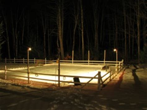 building backyard rink how to build a 24 x40 backyard rink for under 250