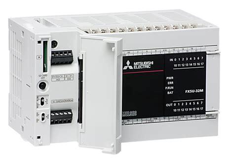 mitsubishi melsec plc mitsubishi electric iq f fx5u plc oak integrator
