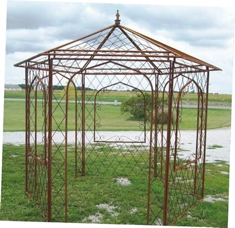 Iron Gazebo Metal Garden Gazebos For Sale Gazebo Ideas