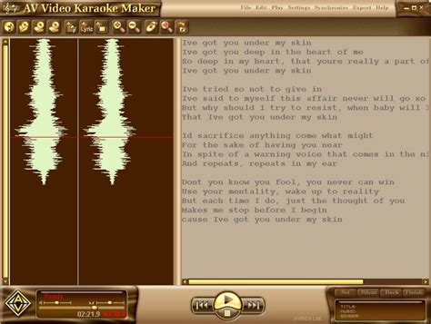 karaoke maker software free download full version av video karaoke maker download