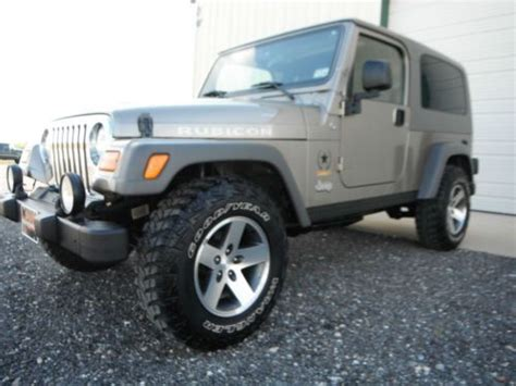 2005 Jeep Rubicon Unlimited For Sale Buy Used 2005 Jeep Wrangler Unlimited Rubicon Sport