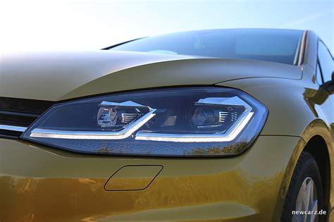 vw golf 7 beleuchtung erstkontakt mit dem vw golf 7 facelift auf mallorca