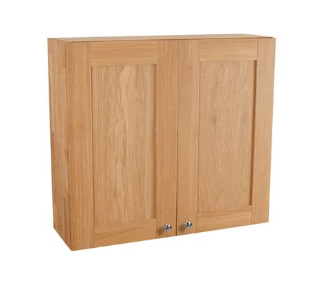 Kitchen Wall Cabinets Uk Solid Oak Kitchen Wall Cabinet H900mm X W1000mm X D300mm 2 X Height Shaker Lacquered