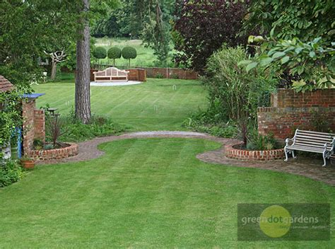 Landscaping Ideas Large Gardens Large Garden 2 Green Dot Gardens