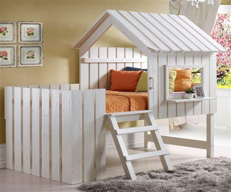 kids twin loft bed donco kids cabana twin low loft bed ebay