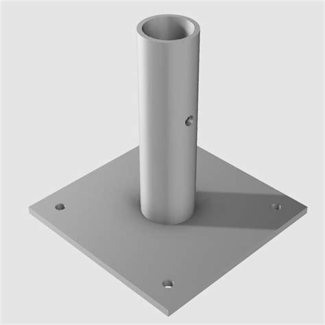 Plinth Or Pedestal Base Plate Frame Tent Fitting