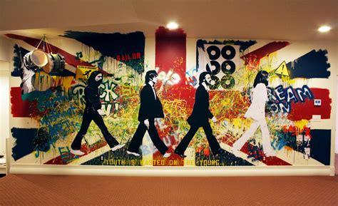 kathryn godwin visual artist graffiti wall mural behind
