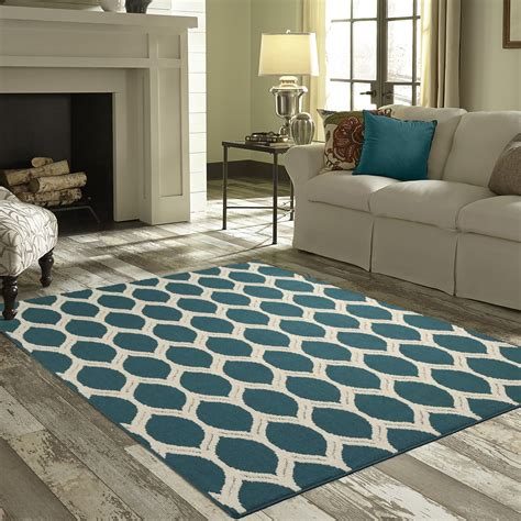 size bed rug mainstays ogee area rugs or runner ebay