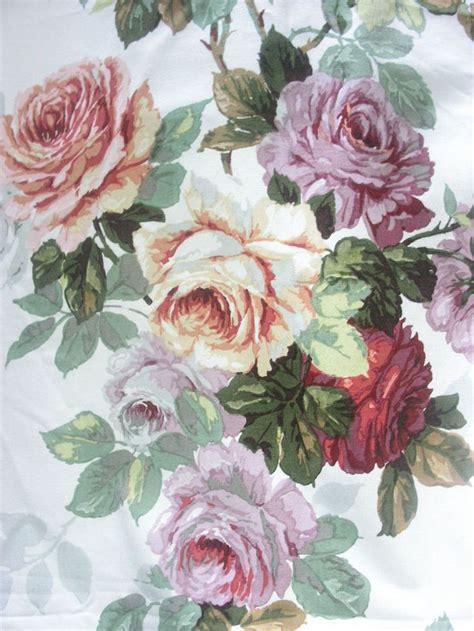 cabbage rose fabric curtains vintage sanderson cabbage roses cushion fabric curtain