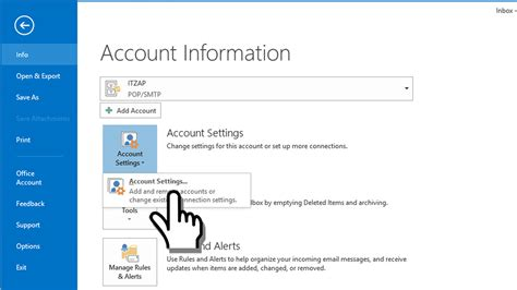 setting anonytun three via ssl microsoft outlook ssl secured pop3 email account settings