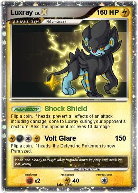 Shock Luxio Pok 233 Mon Luxray 513 513 Shock Shield My Card