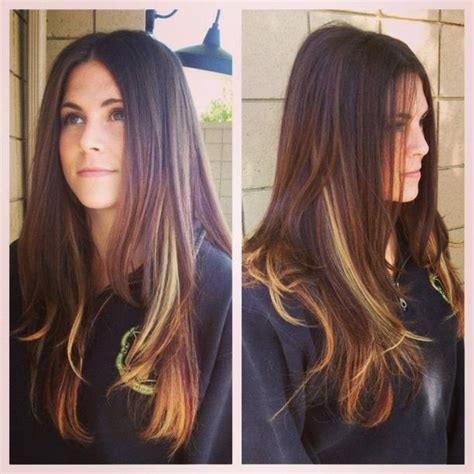 hi lo light hair colors 5 burgundy hair color highlights for 2014 image