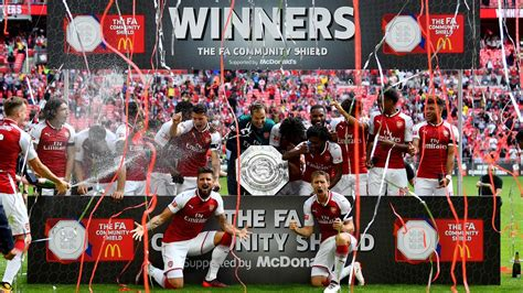 arsenal win community shield  penalties  chelseas