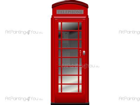 cabine telefoniche londra adesivi murali viaggi londra cabina telefonica 1417it
