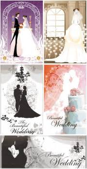 beautiful wedding cards vector free ai eps format vectorpicfree
