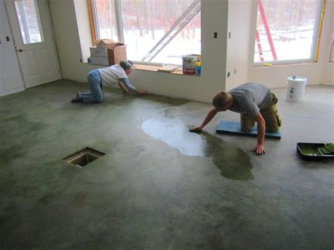 concrete living room floor brainright floor finishing