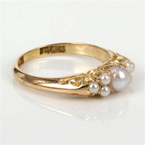 Antique Rings by Antique Pearl Ring Www Imgkid The Image Kid Has It
