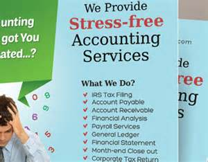 for bookkeeping services template accounting and bookkeeping services flyers on behance