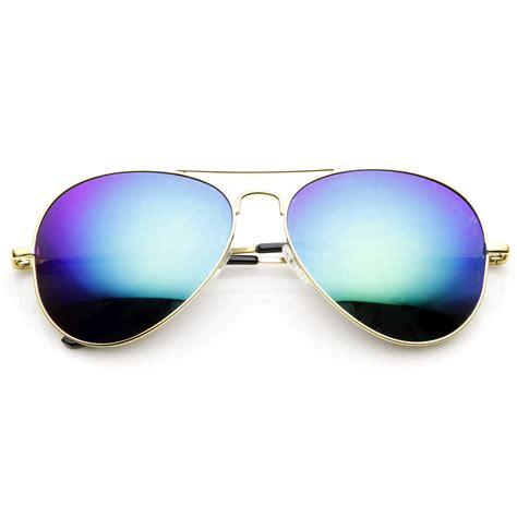 Mirror Sunglasses zerouv gold frame revo mirrored lens sunglasses zerouv