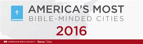 america s 10 most and least bible minded cities the good news today and america s most least bible