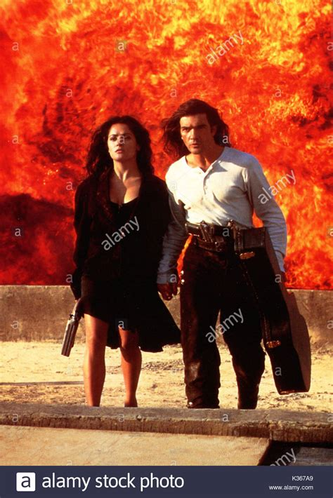 aktor film desperado robert rodriguez salma hayek stock photos robert
