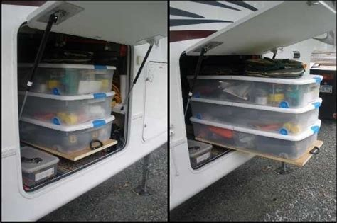 cheap storage solutions 44 cheap and easy ways to organize your rv cer