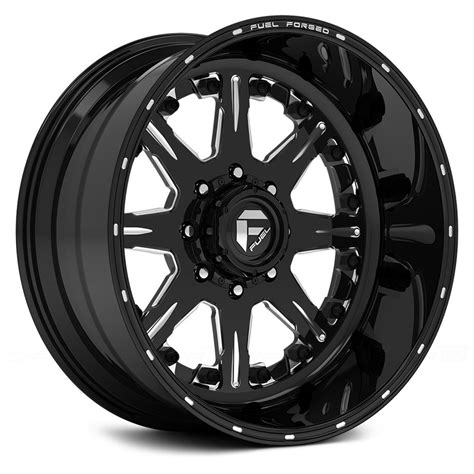 Wheels Fuel fuel 174 ff25 wheels matte black with milled accents rims
