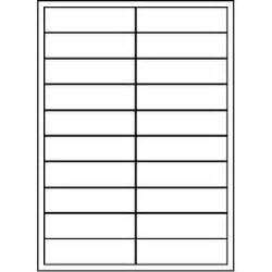 Unistat Printable Labels 100 Sheets 20 Per Page Officeworks 2 Label Template 20 Per Sheet