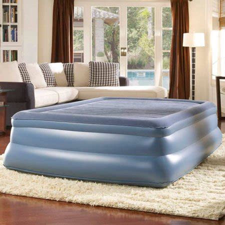 simmons beautyrest sky rise raised pillowtop air bed mattress with walmart