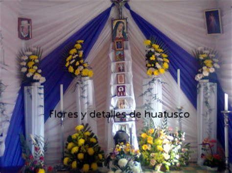 imagenes de altares de novenarios con papel flores y detalles de huatusco home