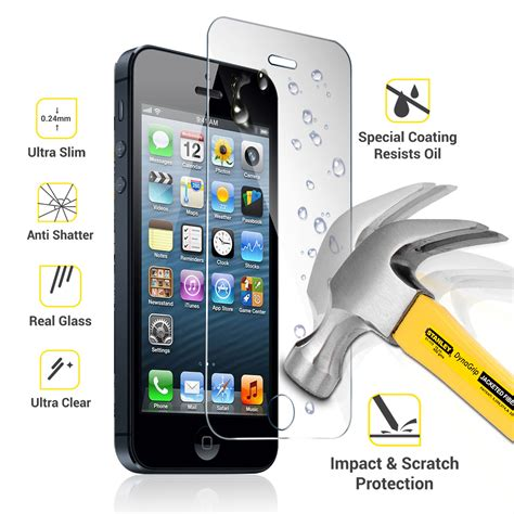 Tempered Glass Anti Iphone 4 Tempered Glass Black Iphone 4 iphone 6 tempered glass screen protector