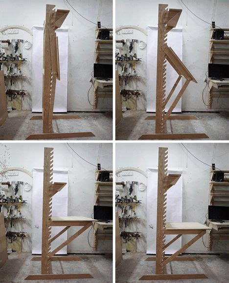 wall mounted drafting l build your own wall easel woodworking projects plans