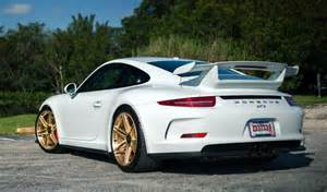 991 Gt3 Porsche Porsche 991 Gt3 On Gold Hre Wheels