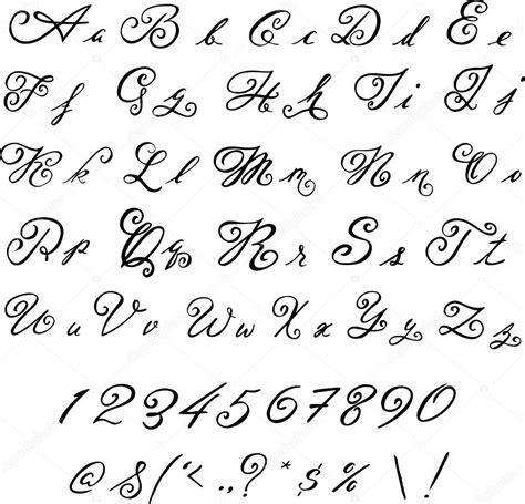 imagenes retro soda letra elegante fuente negro letras vintage archivo im 225 genes