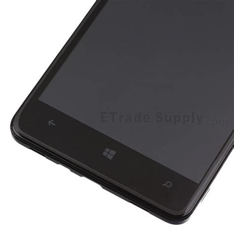 nokia lumia 625 front nokia lumia 625 lcd assembly with front housing black