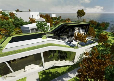 cocoon house futuristic home design futuristic news