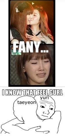 Snsd Funny Memes - lol don t cry sooyoung eventhough your not young in age