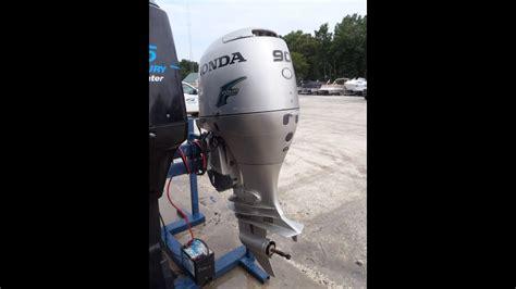 honda boat motors 90hp 6m3978 used 2002 honda bf90a 90hp 4 stroke outboard boat