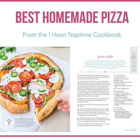 the pizza 101 recipe book books pizza dough from the i naptime cookbook i
