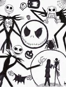 A Nightmare Before Christmas Coloring Pages