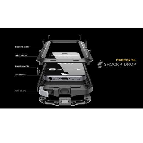 Lunatik Taktik Strike For Iphone 5 5g 5s With Gorilla Glass Original 1 lunatik taktik strike hardcase for iphone 5 5s black jakartanotebook