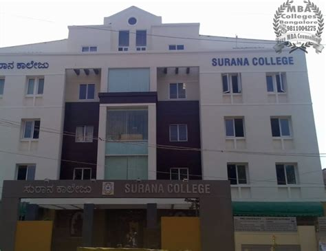 Colleges Of Bangalore For Mba by Surana College Mba Colleges Bangalore