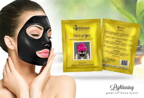 Masker Lumpur Hitam Naturgo Naturgo Black Mask 1 masker naturgo hanasui atau shiseido review ciri asli palsu