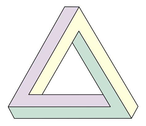 The Triangle file penrose triangle svg