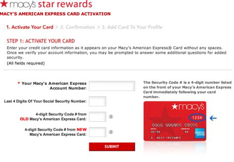 Activate Macy S Gift Card - how do i activate macy s credit card credit card questionscredit card questions