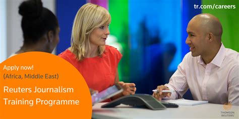 Mba In Journalism In Usa by Thomson Reuters Journalism Programme 2018 Middle