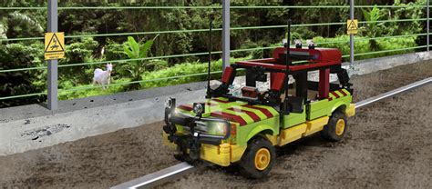 jurassic park tour jurassic park tour vehicle custom kit mightymega