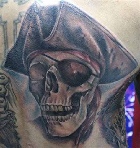 pirate skeleton sitting tattoo design 25 best ideas about pirate skull tattoos on